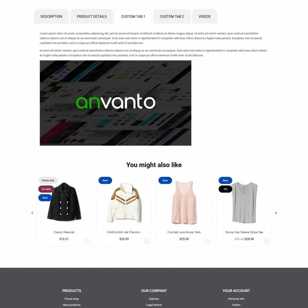 theme - Мода и обувь - Concept Fashion Store - 8