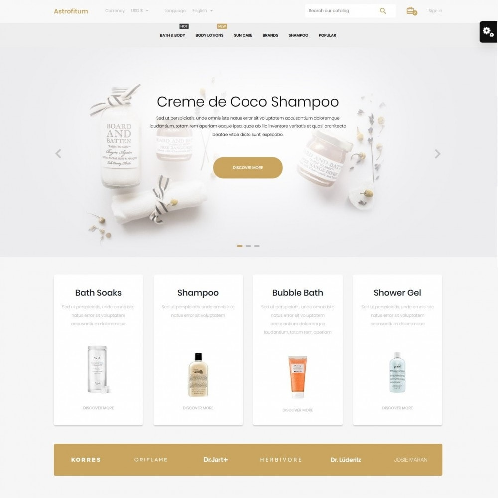 theme - Health & Beauty - Astrofitum Cosmetics - 2