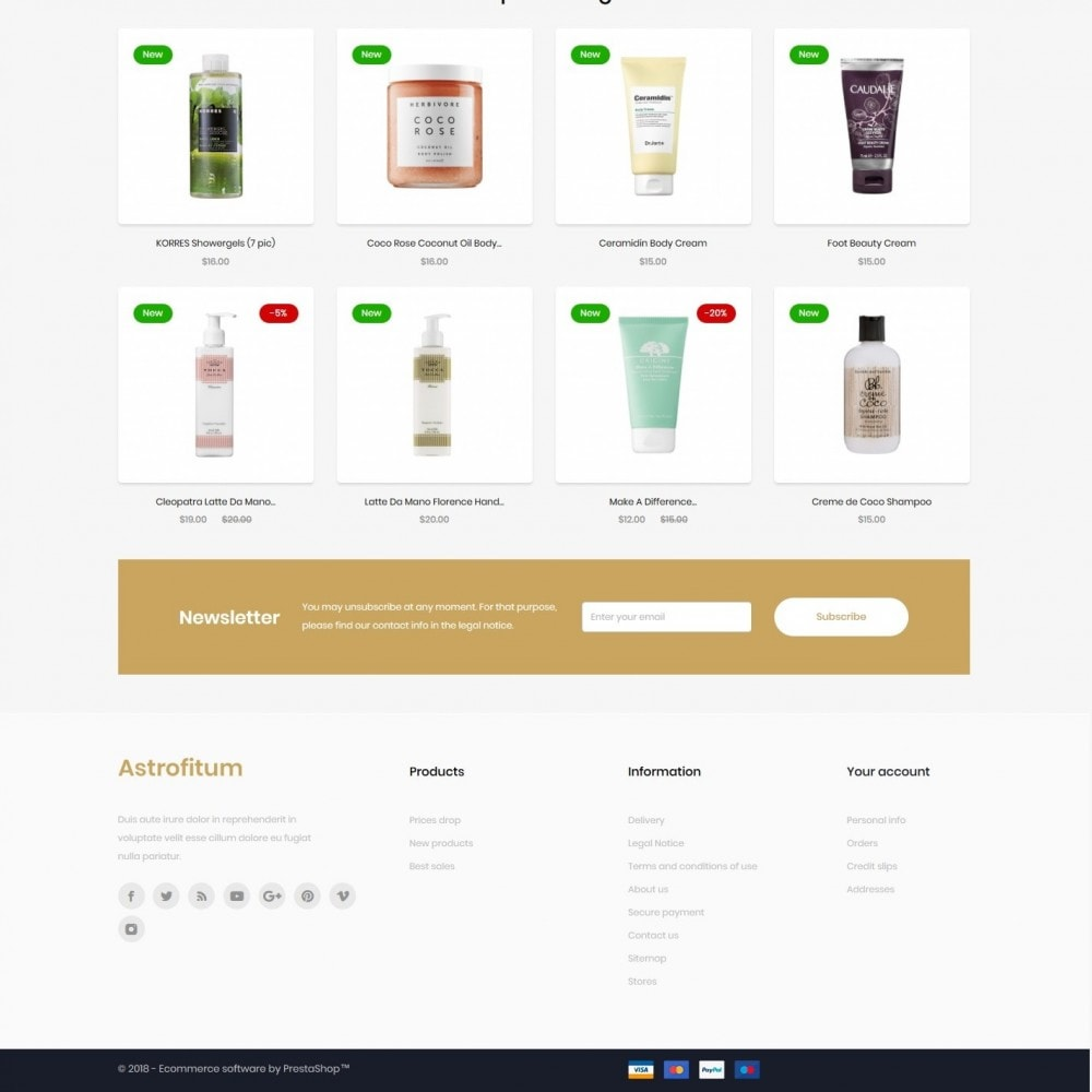 theme - Health & Beauty - Astrofitum Cosmetics - 4