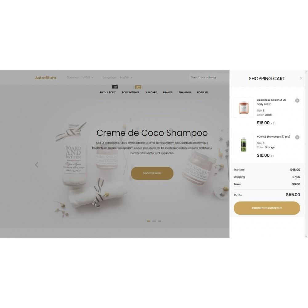 theme - Health & Beauty - Astrofitum Cosmetics - 7
