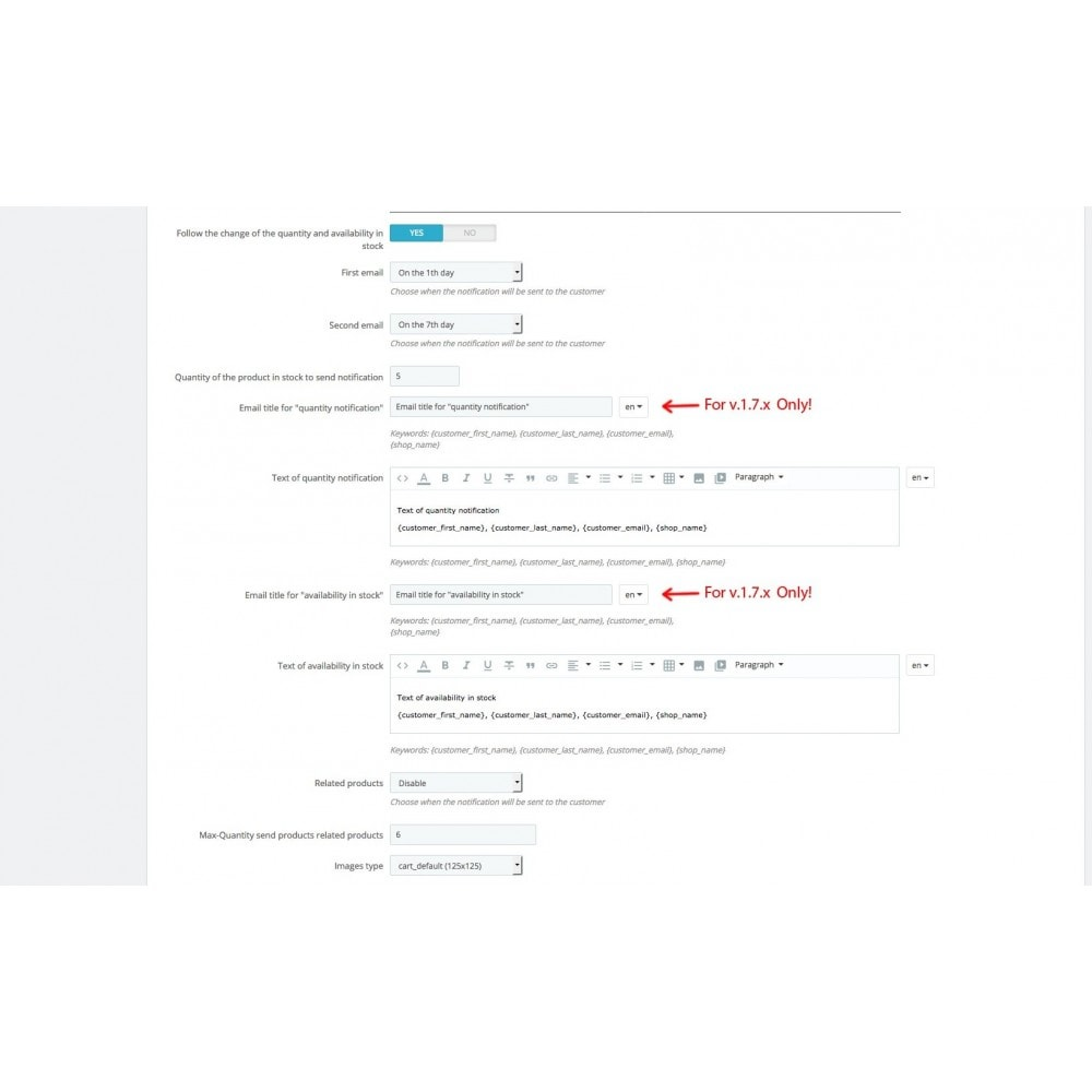 module - электронные письма и уведомления - Follower - Products Wishlist and Notifier (with GDPR) - 4