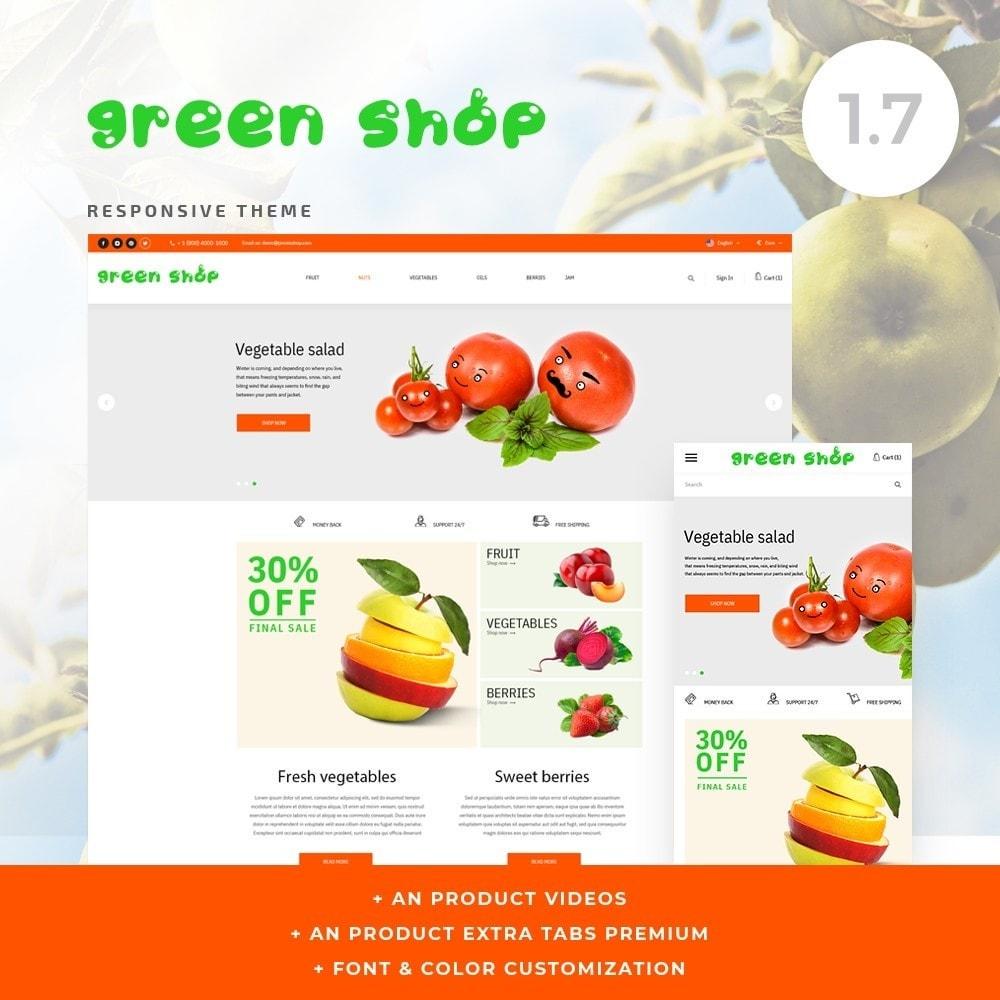 theme - Food & Restaurant - Green shop - 1