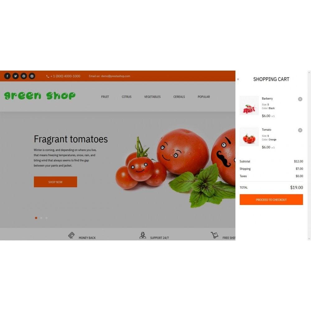theme - Food & Restaurant - Green shop - 7
