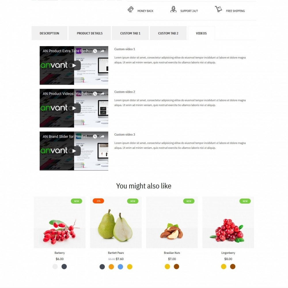 theme - Food & Restaurant - Green shop - 8
