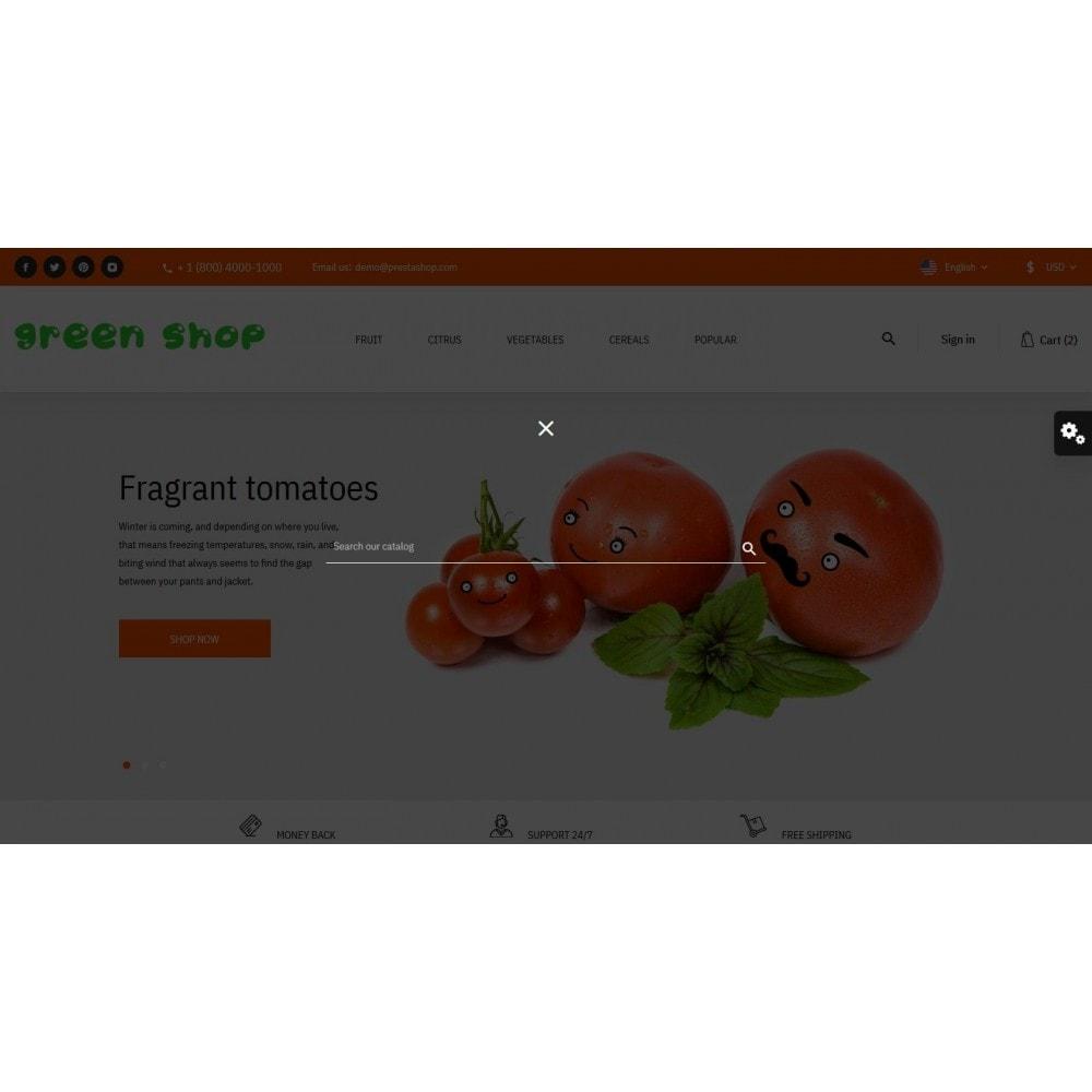 theme - Food & Restaurant - Green shop - 10