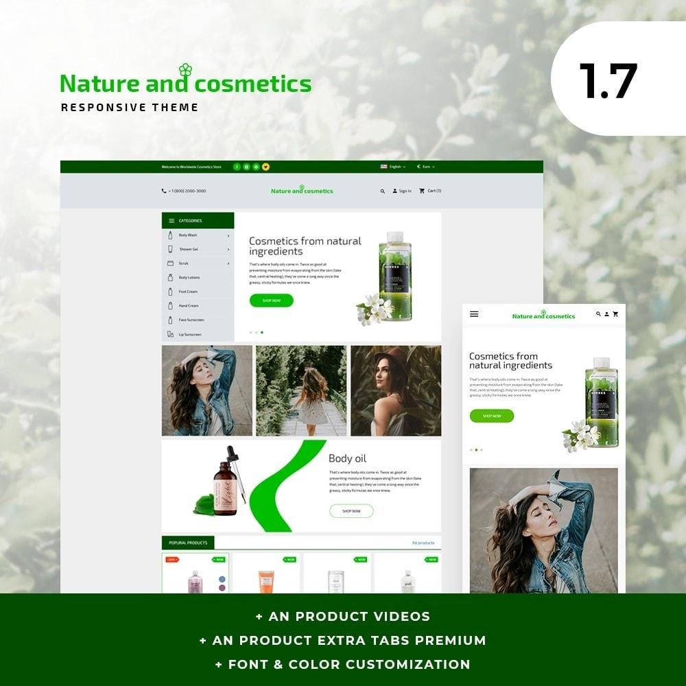 theme - Saúde & Beleza - Nature and cosmetics - 1