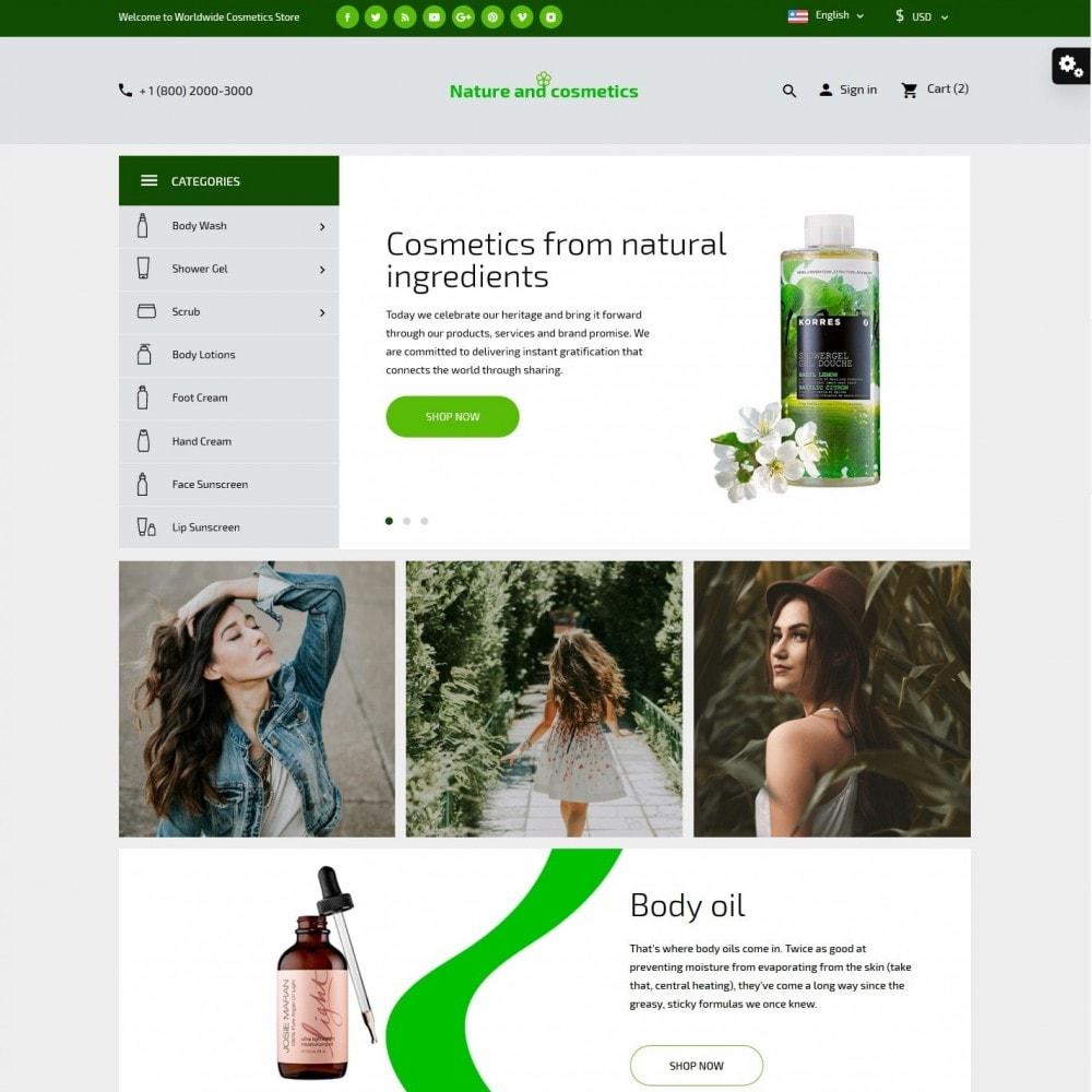theme - Saúde & Beleza - Nature and cosmetics - 2