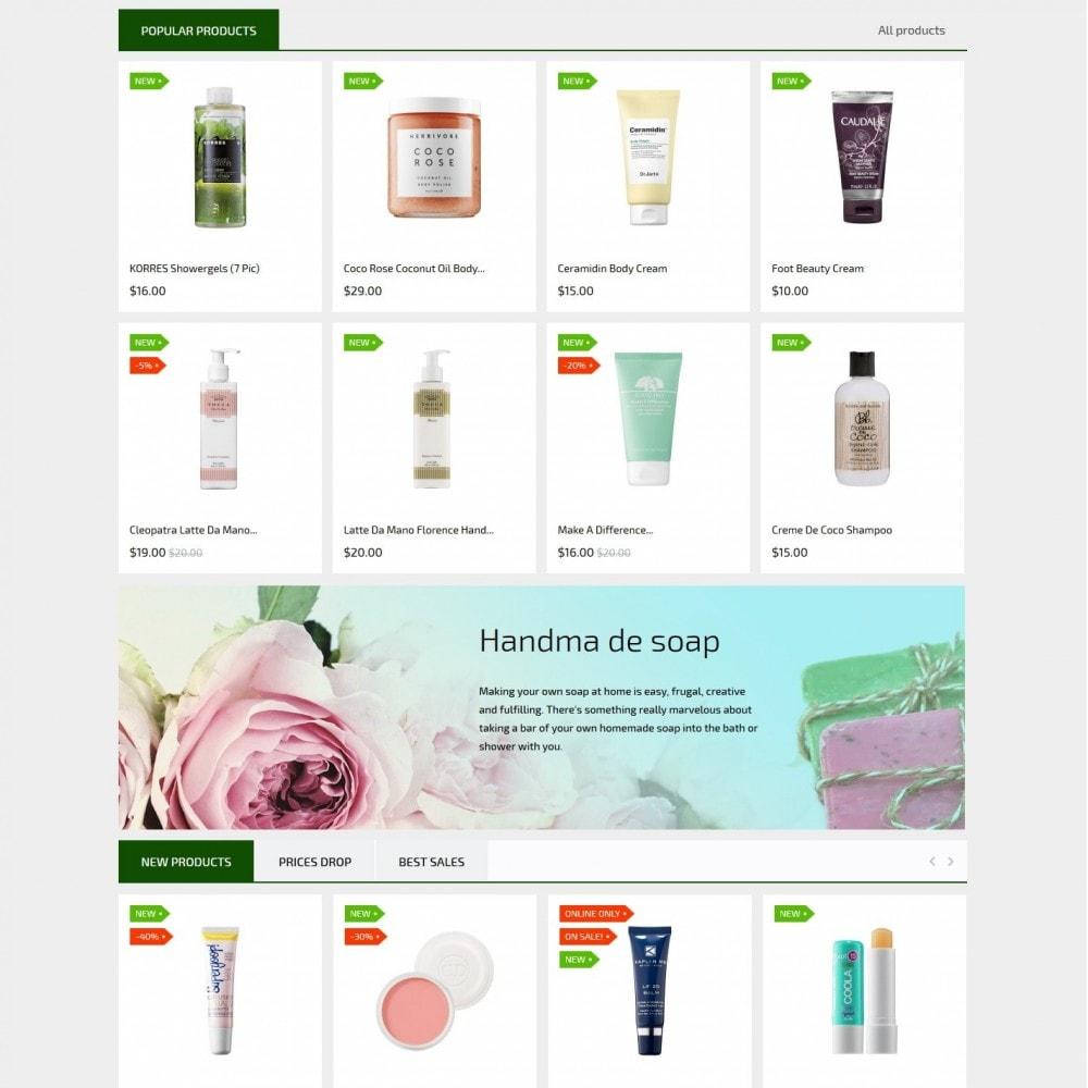 theme - Saúde & Beleza - Nature and cosmetics - 3