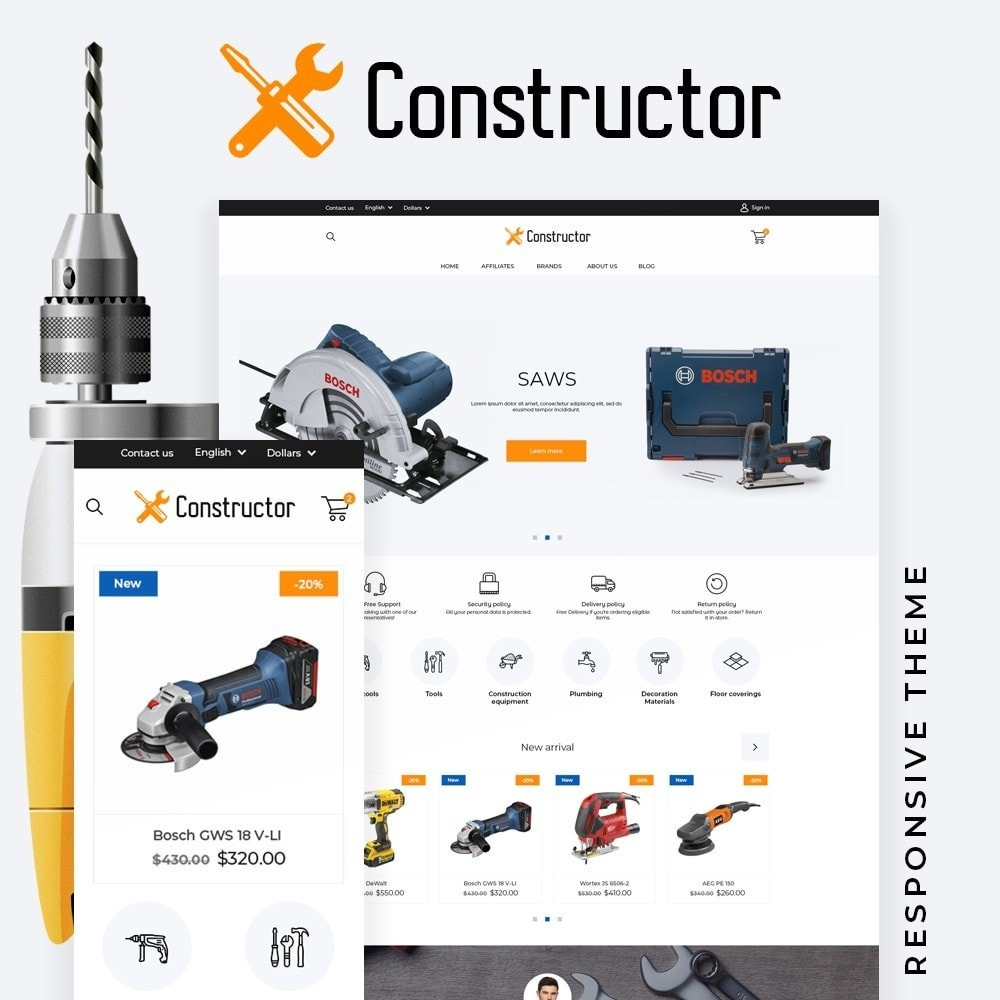 theme - Electronics & Computers - Constructor - 1