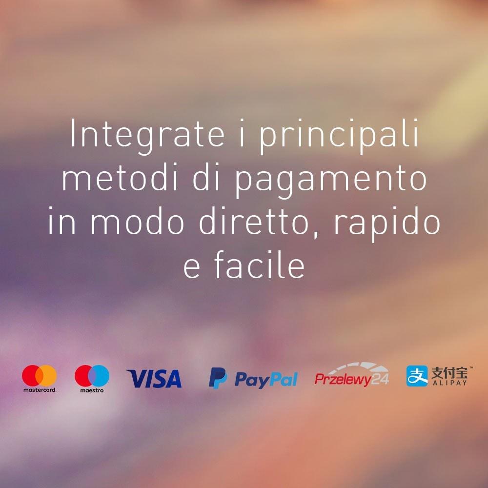 module - Pagamento con Carta di Credito o Wallet - Wirecard - 1