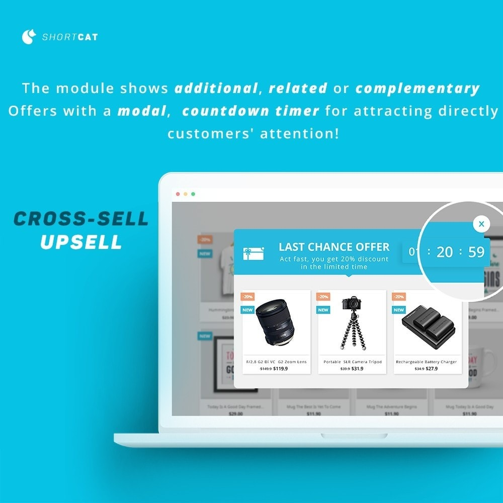 module - Cross-selling & Product Bundles - Cross Selling / Upsell: Recommend , Related , Smart - 1