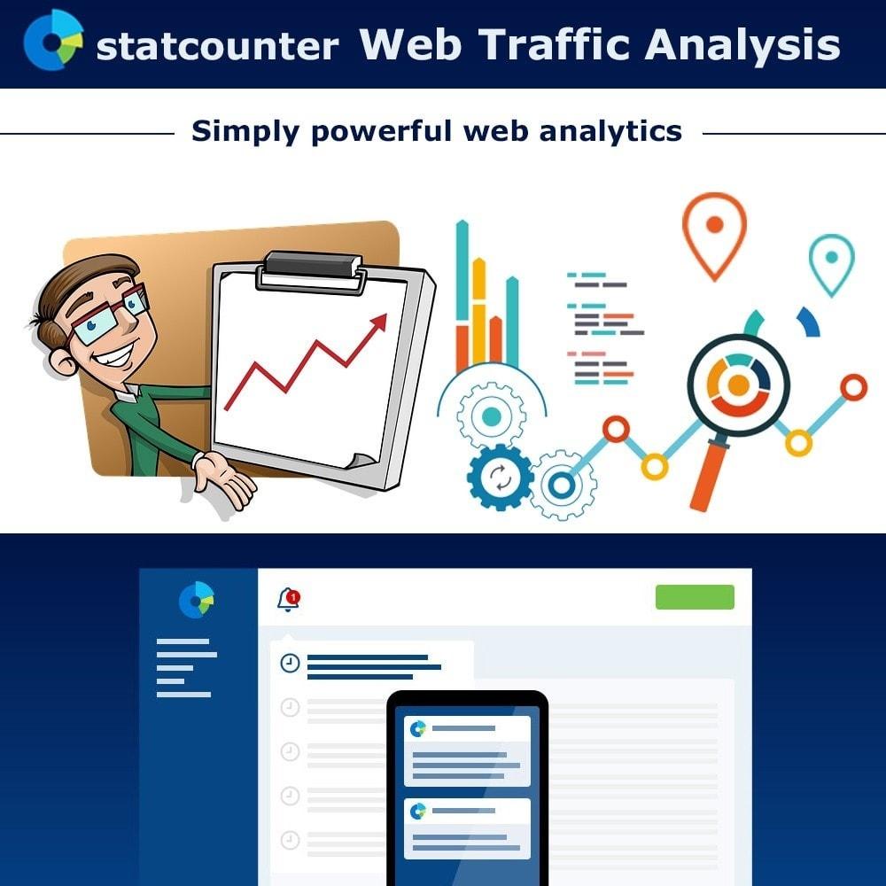 module - Análises & Estatísticas - Web Traffic Analysis with StatCounter - 1