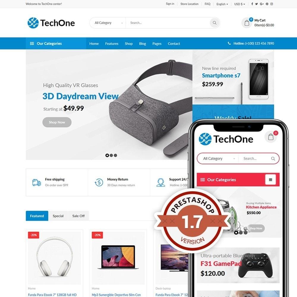 theme - Electronique & High Tech - TechOne - 1