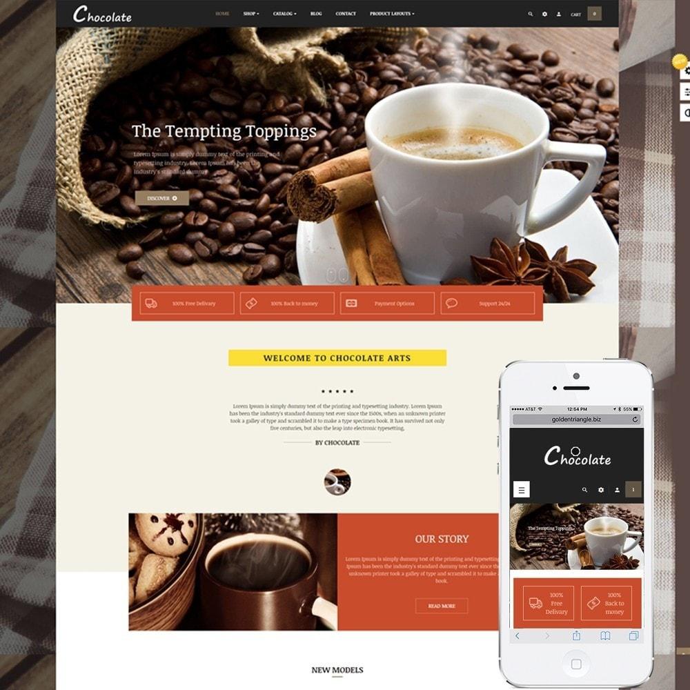 theme - Alimentation & Restauration - Leo Chocolatina - 1