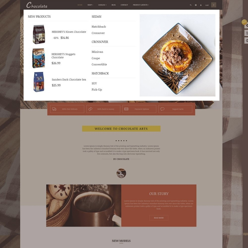theme - Alimentation & Restauration - Leo Chocolatina - 2