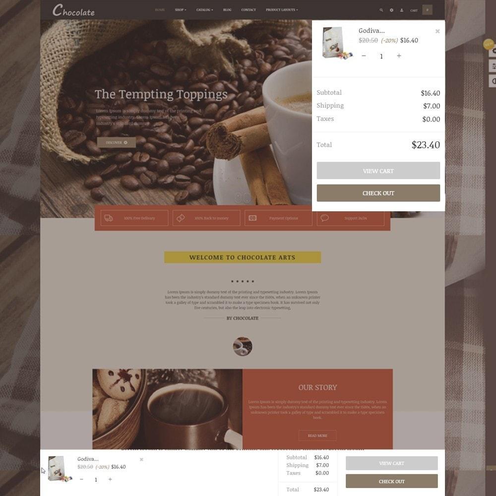 theme - Alimentation & Restauration - Leo Chocolatina - 4