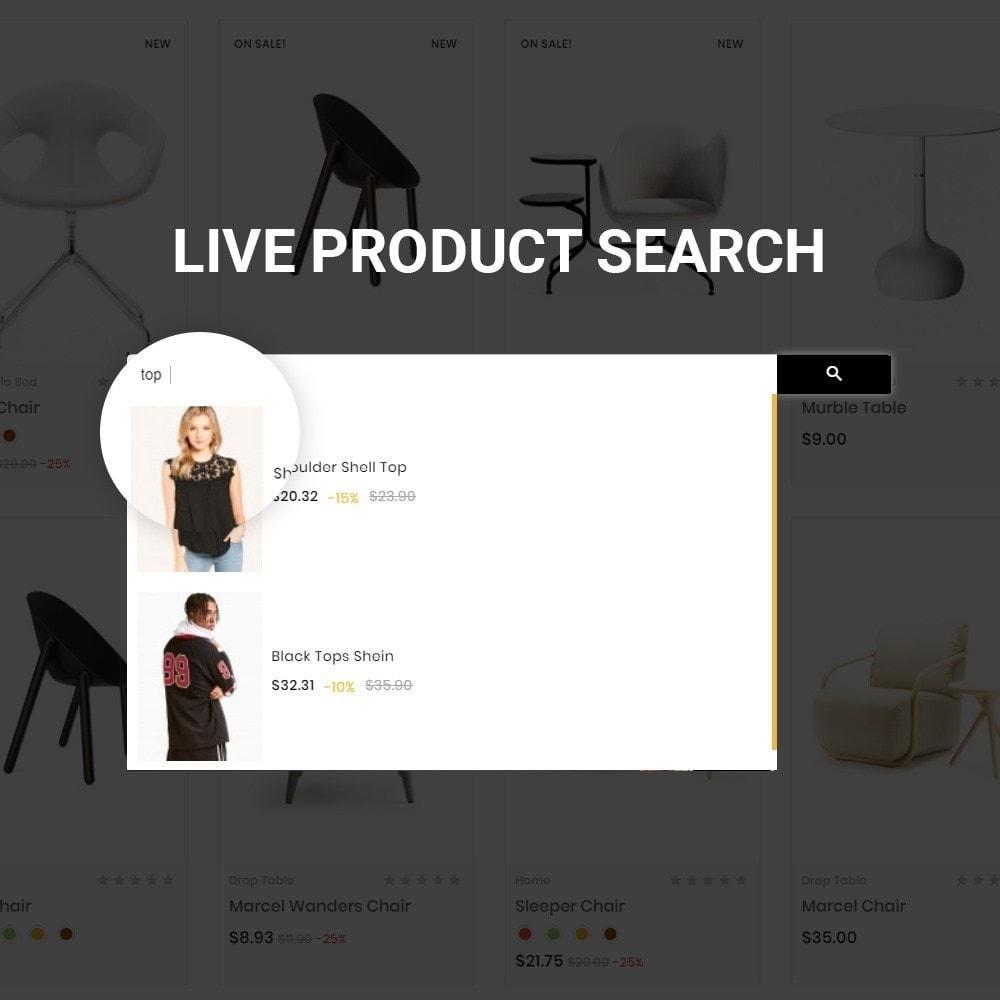 theme - Fashion & Shoes - White Shine – Wood Furniture Mega Shop - 8