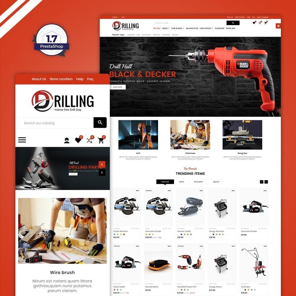 theme - Carros & Motos - Drilling –Tools Mega Shop - 1