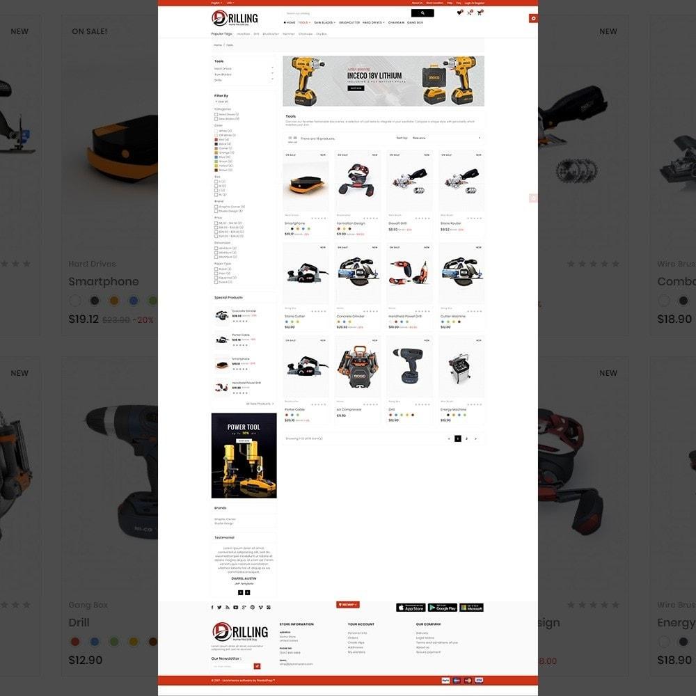 theme - Carros & Motos - Drilling –Tools Mega Shop - 3