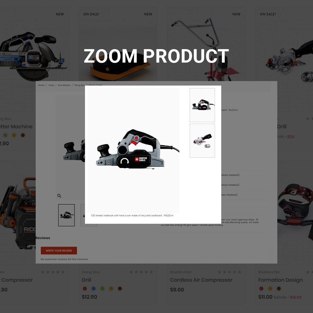 theme - Carros & Motos - Drilling –Tools Mega Shop - 6