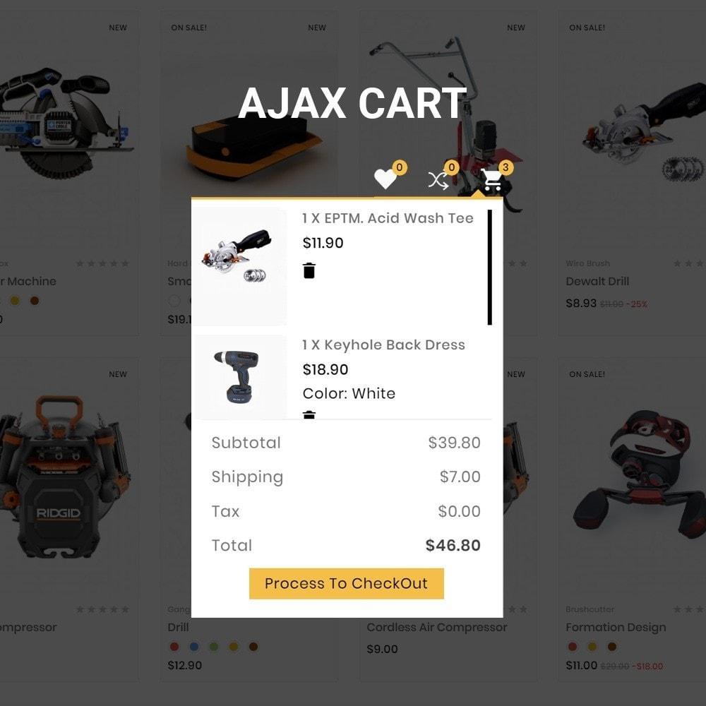 theme - Auto & Moto - Drilling –Tools Mega Shop - 7