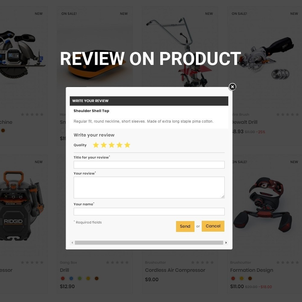 theme - Auto & Moto - Drilling –Tools Mega Shop - 9