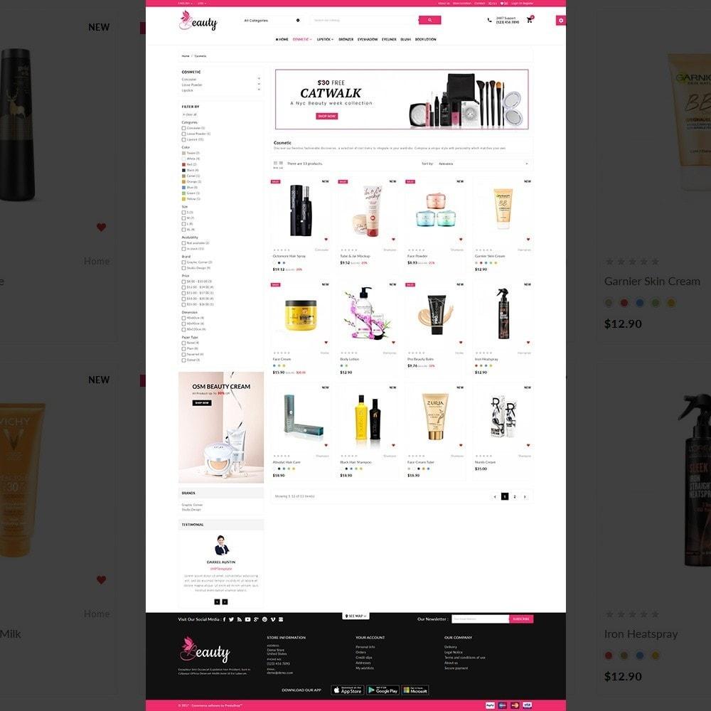 theme - Santé & Beauté - The Beauty Shop - 3