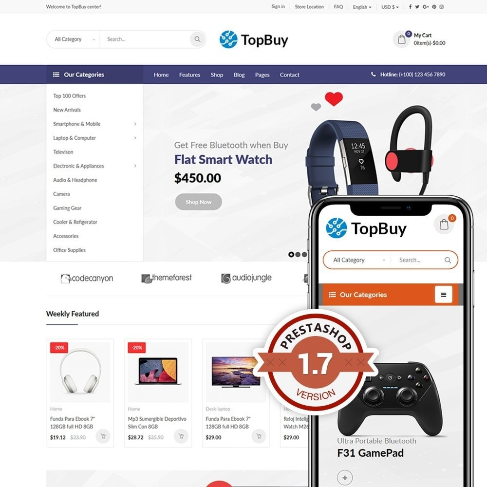 theme - Elektronik & High Tech - TopBuy - 1
