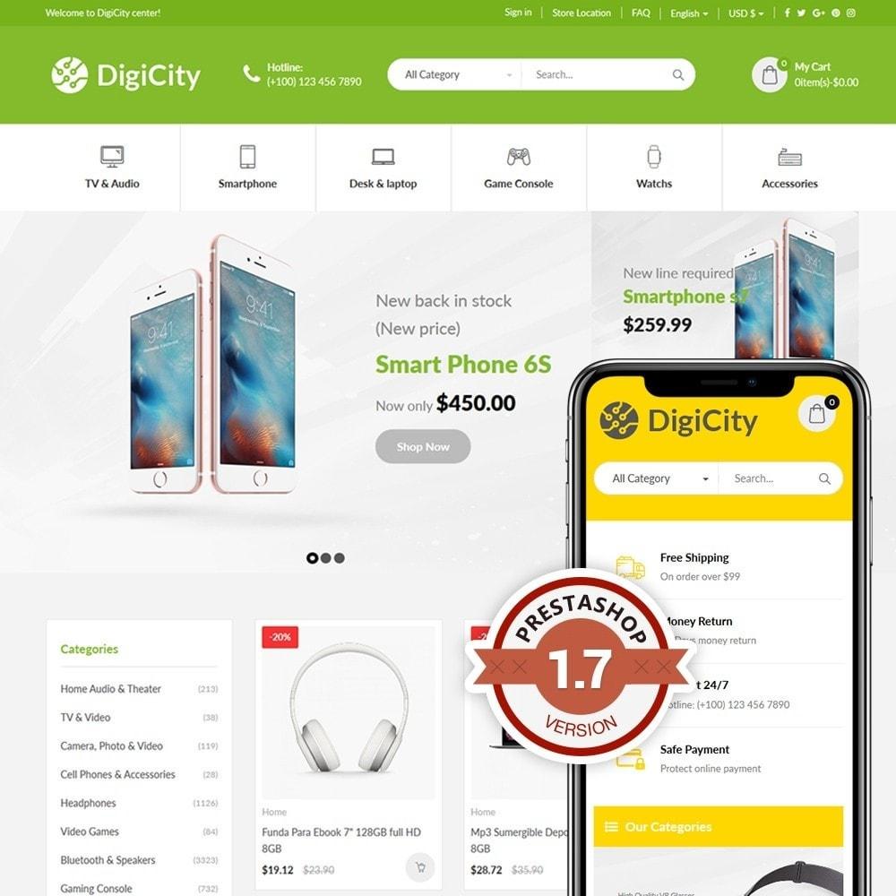 theme - Electronique & High Tech - DigiCity - 1