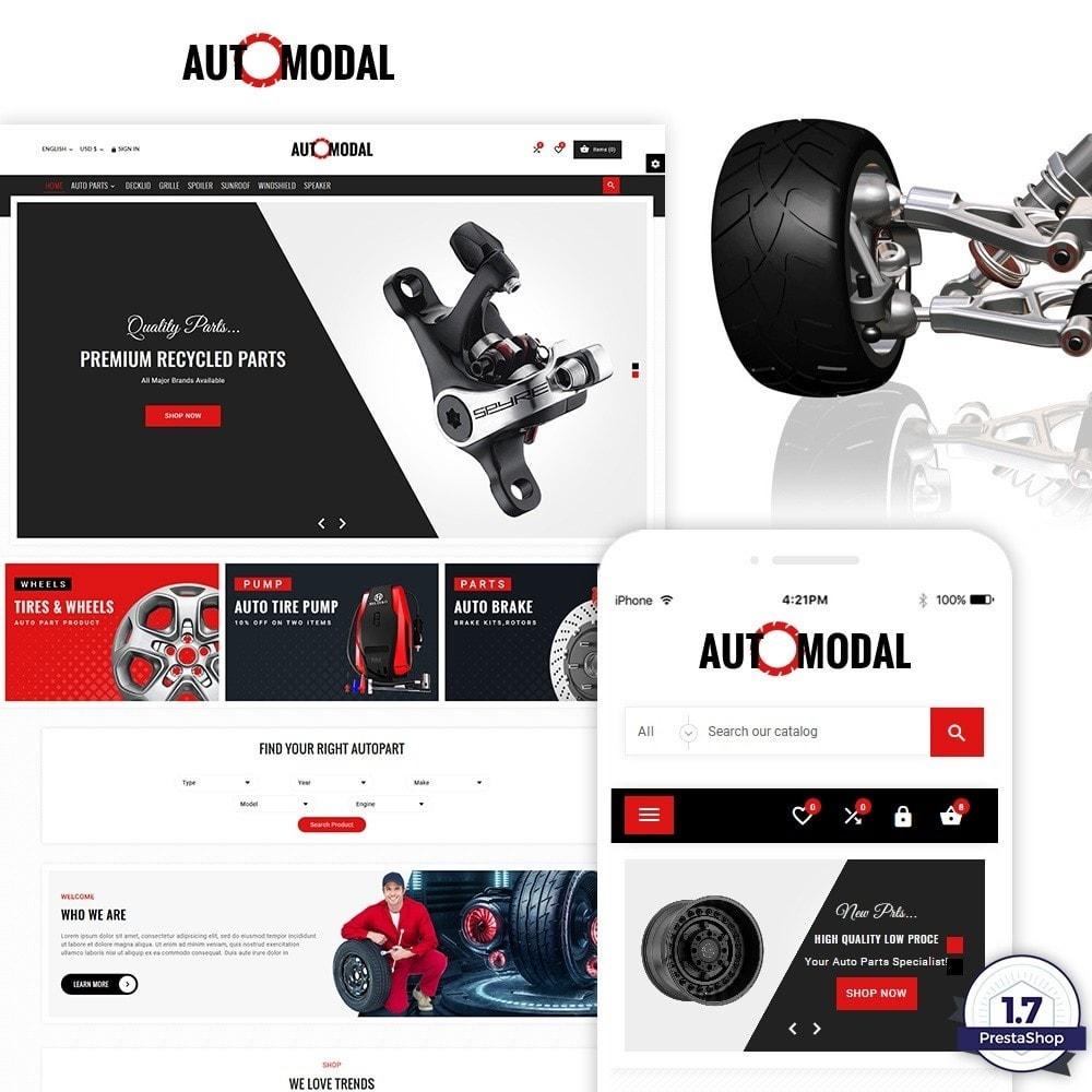 theme - Carros & Motos - Auto Modal – Auto Part & Accessories Multi Store - 1