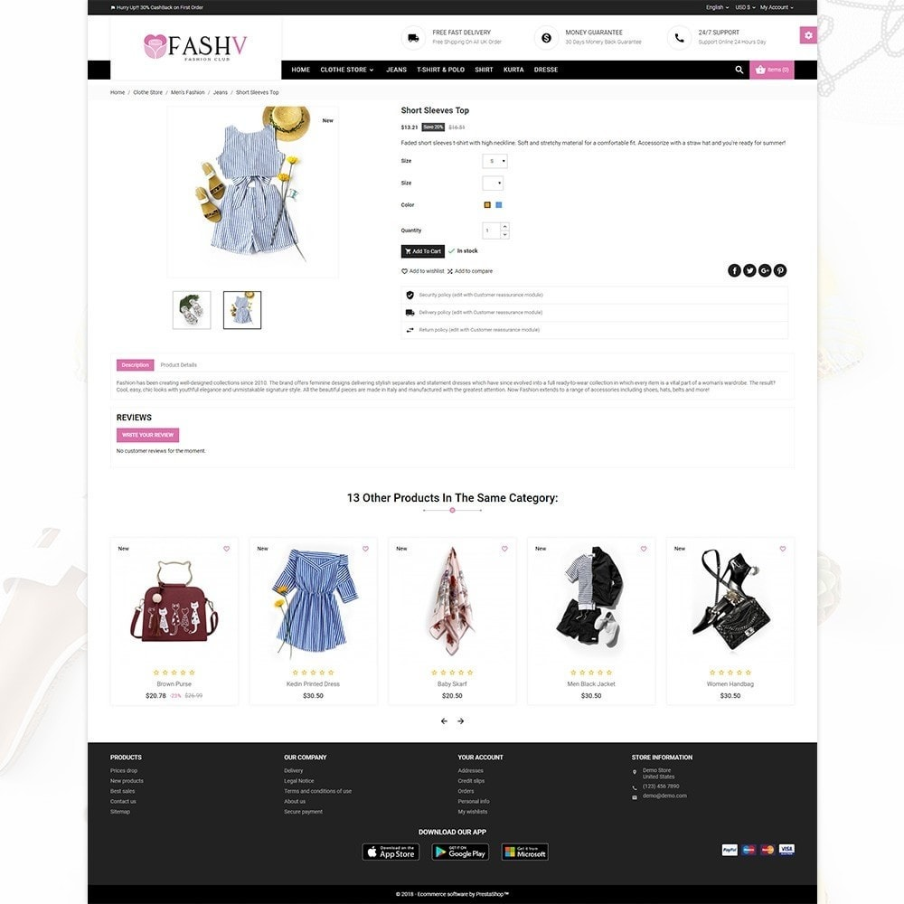 theme - Mode & Chaussures - FashV – Fashion Stylish Super Store - 4