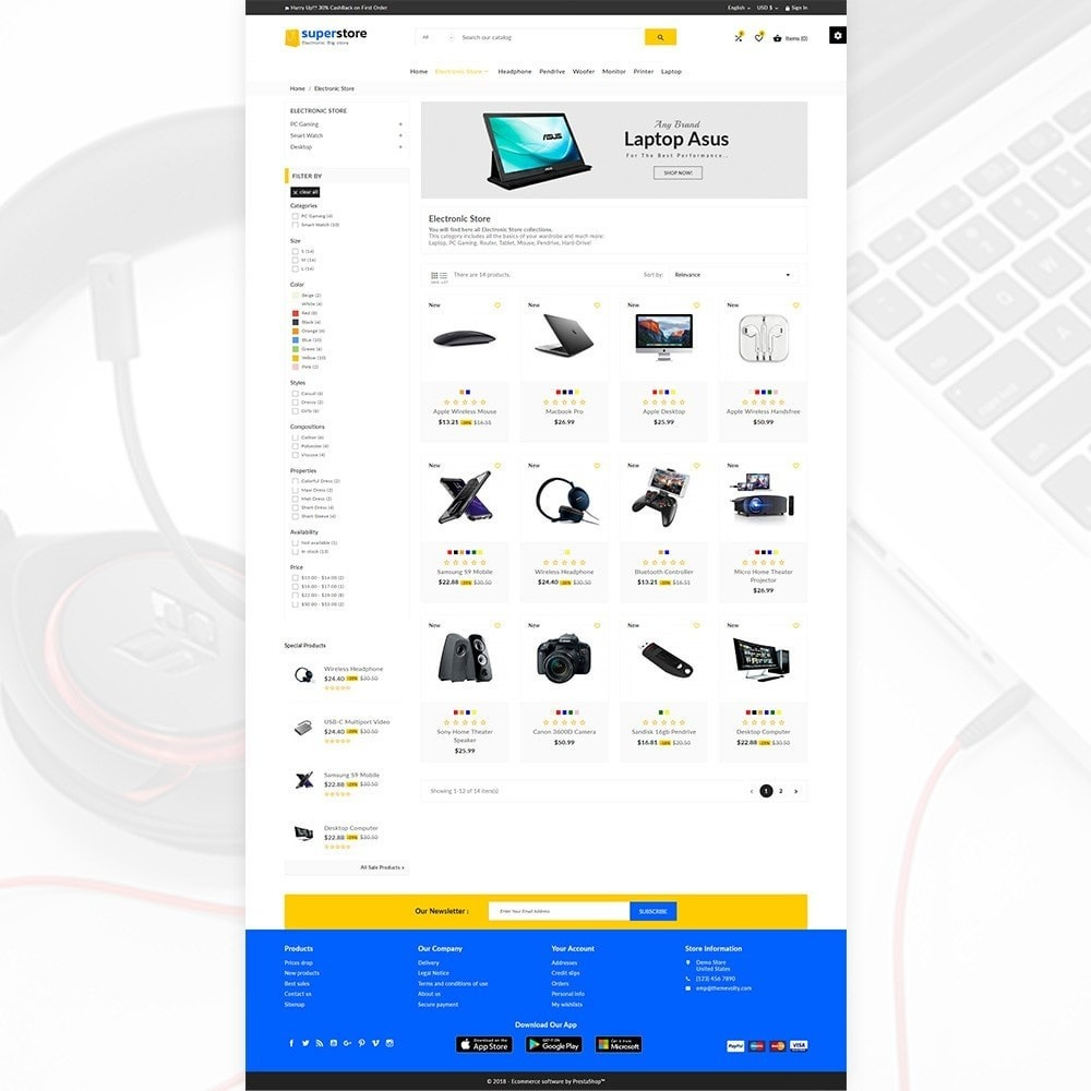theme - Eletrônicos & High Tech - Super Store – Big Multi Store - 3