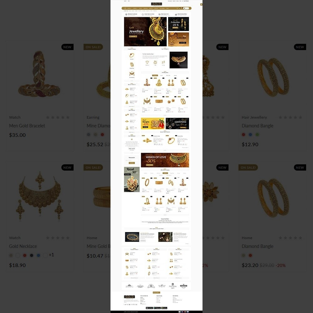 theme - Bijoux & Accessoires - The Gold- Jewelry Store - 2