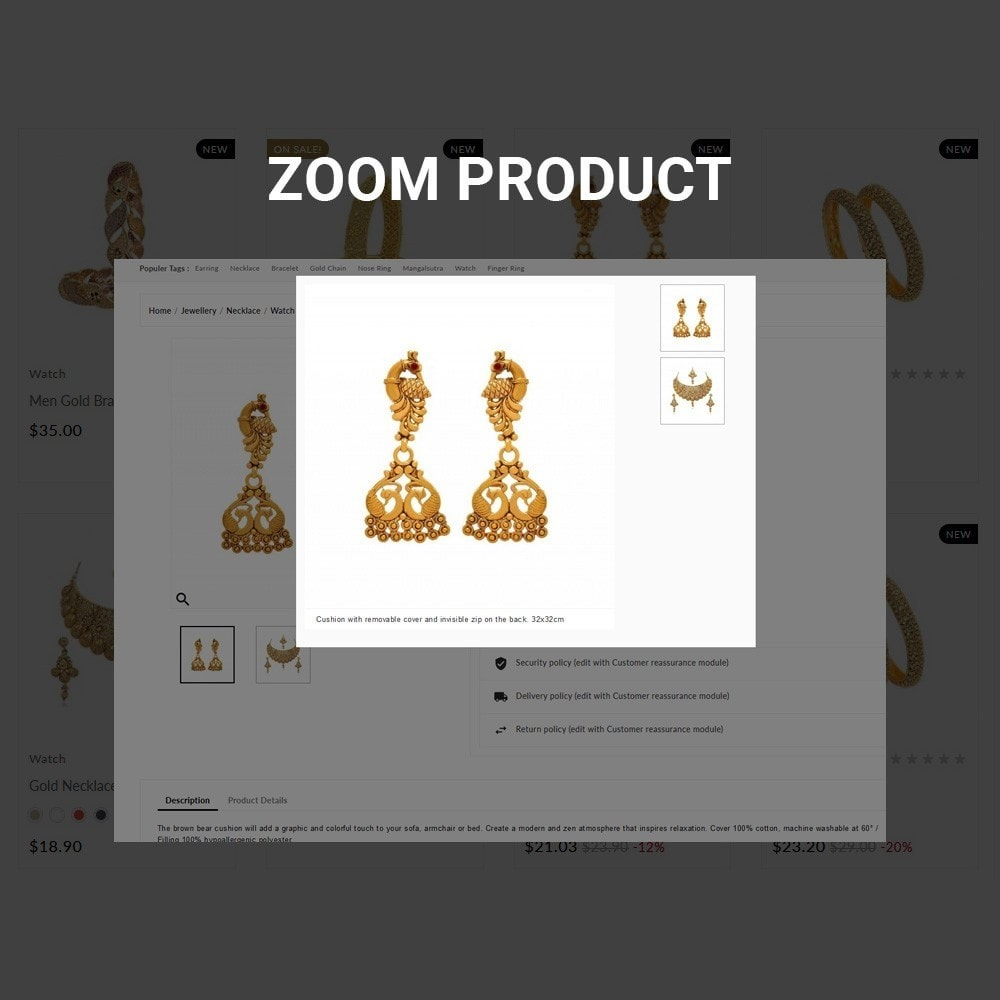 theme - Bijoux & Accessoires - The Gold- Jewelry Store - 6