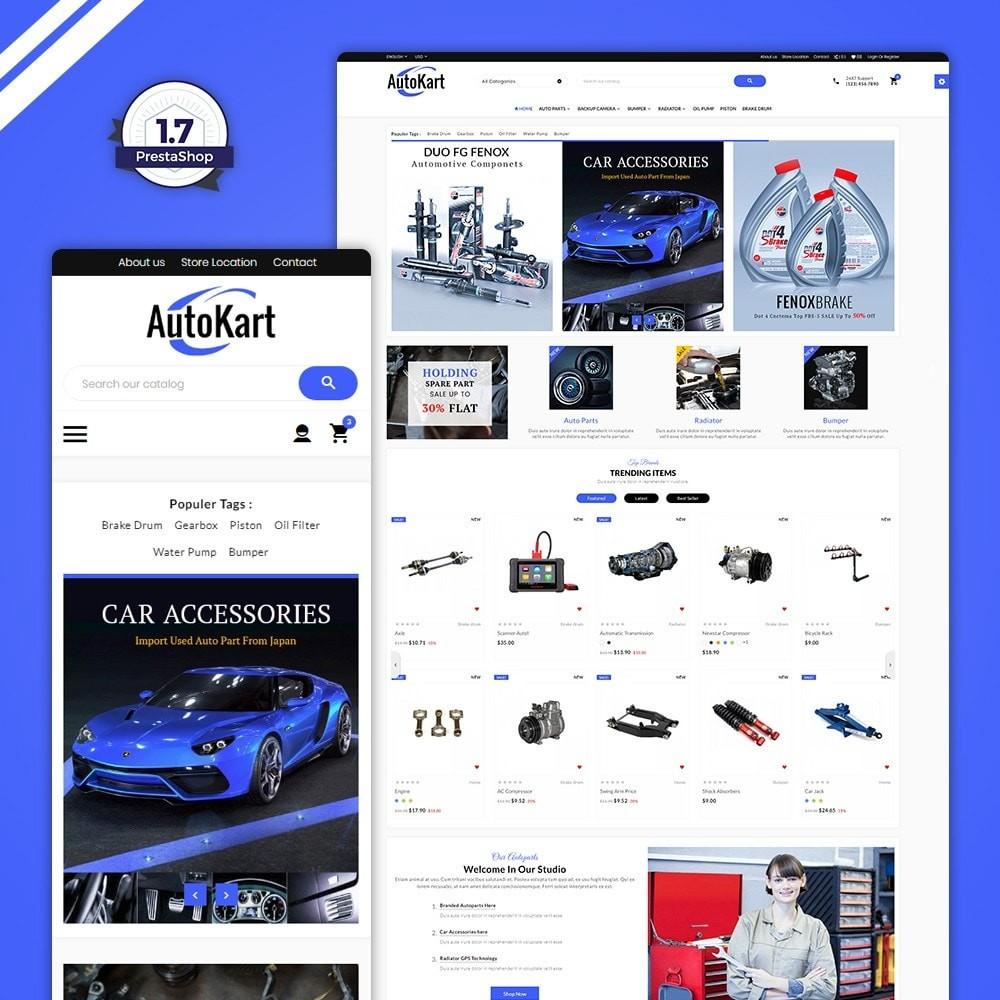 theme - Automotive & Cars - Auto Kart – Car Accessories Store - 1