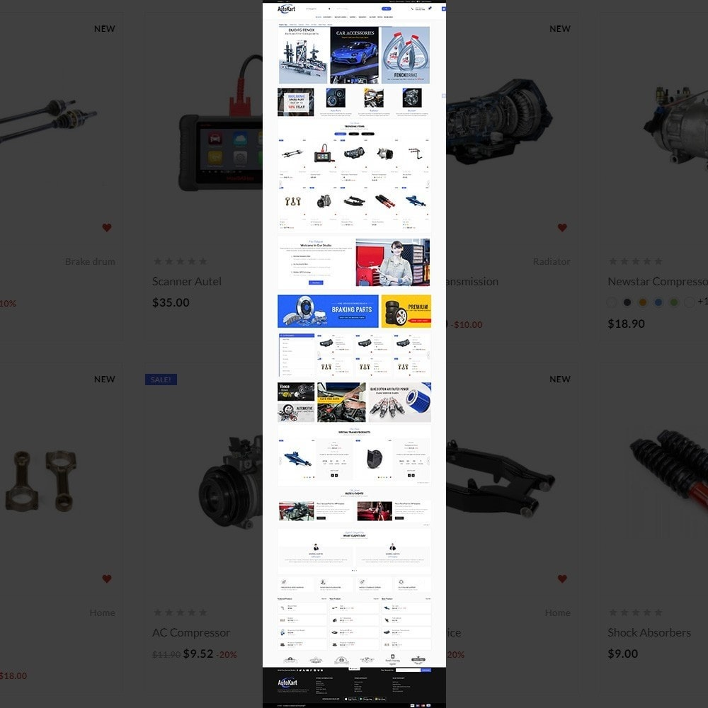 theme - Automotive & Cars - Auto Kart – Car Accessories Store - 2