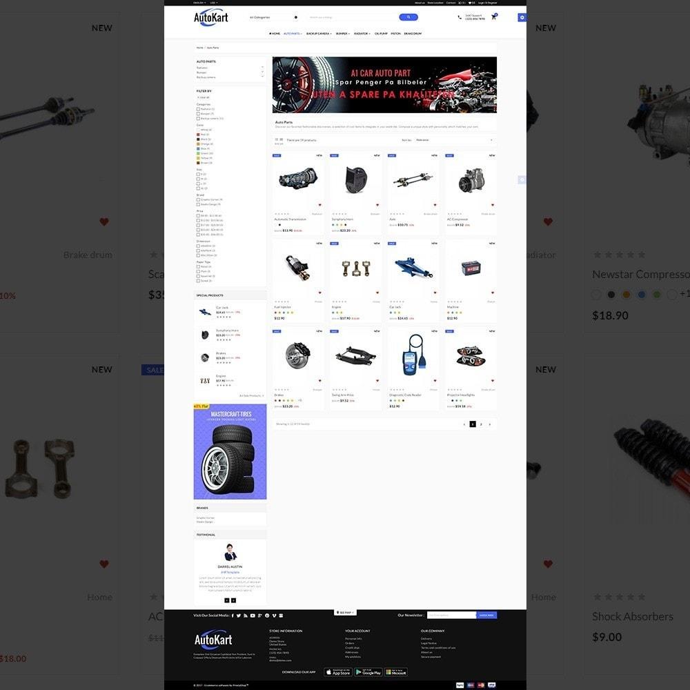 theme - Automotive & Cars - Auto Kart – Car Accessories Store - 3