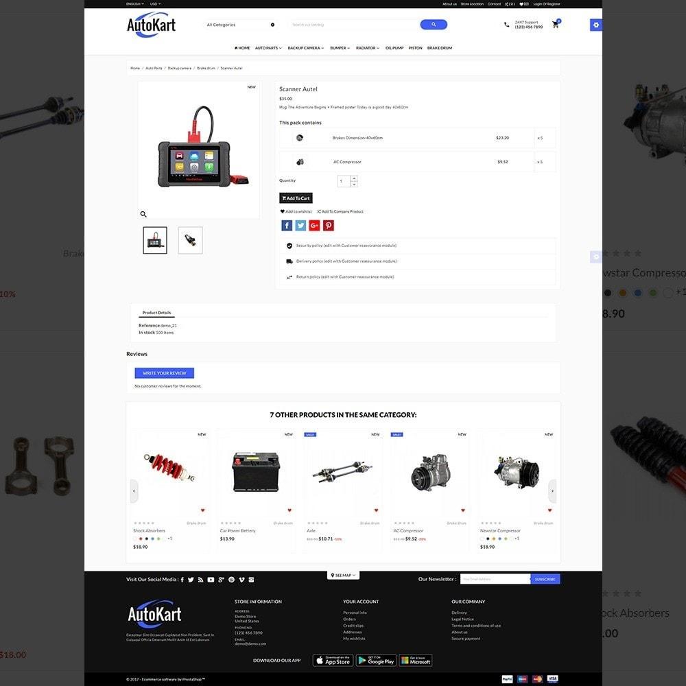theme - Automotive & Cars - Auto Kart – Car Accessories Store - 4