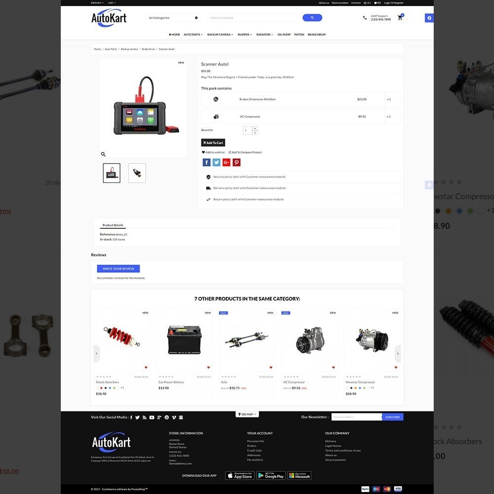 theme - Automotive & Cars - Auto Kart – Tools and Car Accessories Store - 4