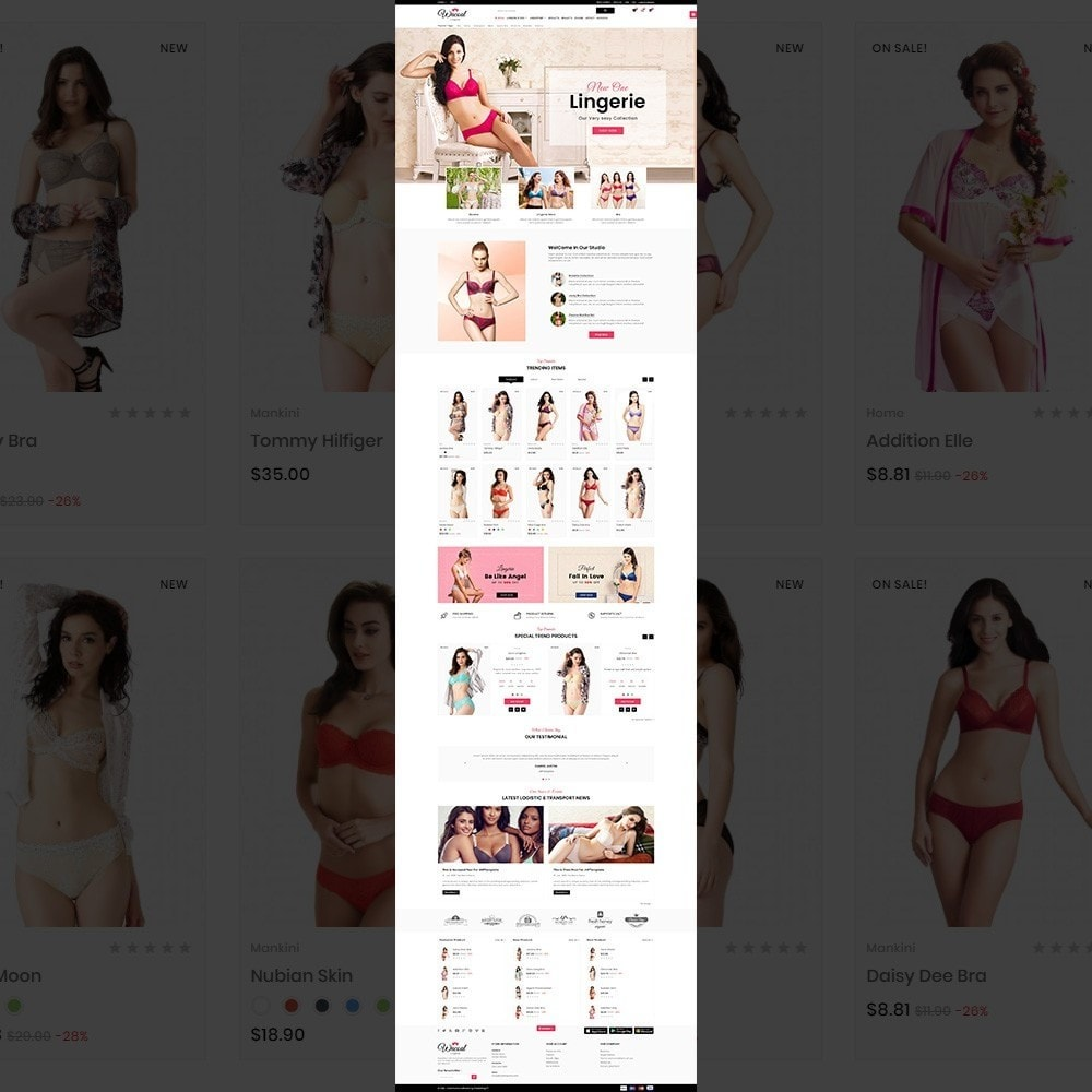 theme - Lingerie & Adultos - The lingerie Store - 2