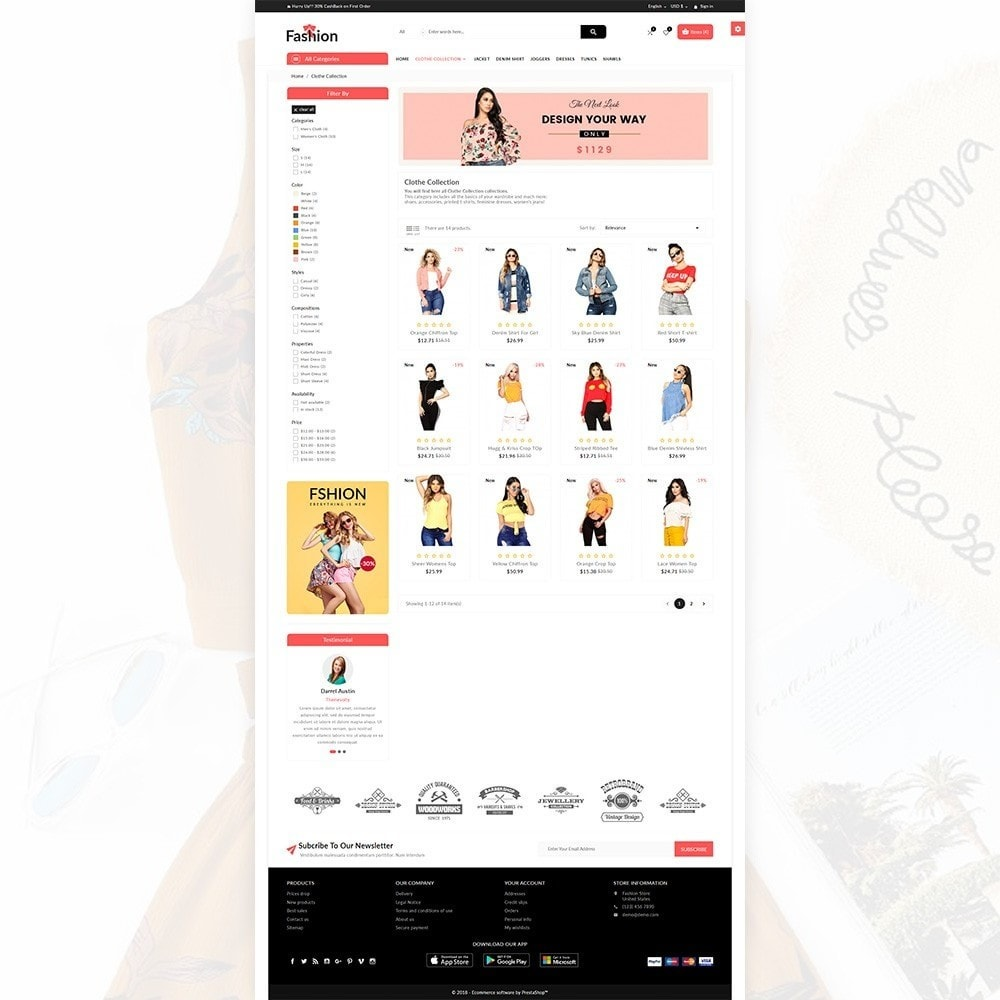 theme - Fashion & Shoes - Stylish Fashion Multi Store - 3