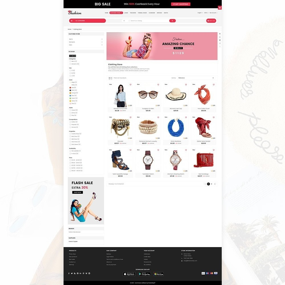 theme - Mode & Chaussures - Stylish Cloth Multi purpose Store - 3