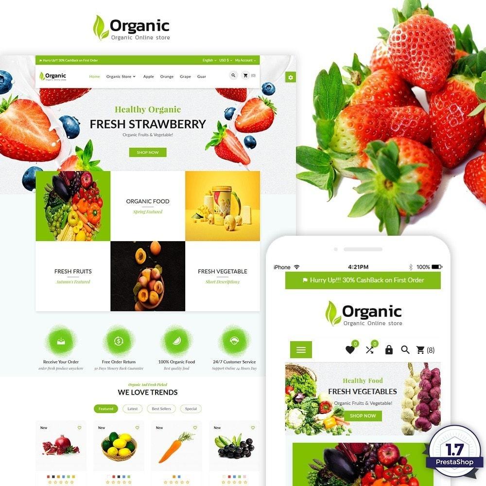 theme - Alimentos & Restaurantes - Organic – Fresh Food Market Store - 1