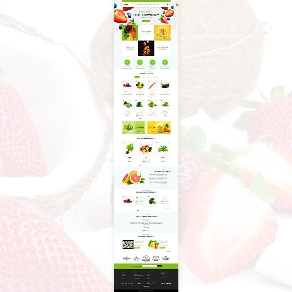 theme - Żywność & Restauracje - Organic Fresh–Food Grocery–Market Store - 3