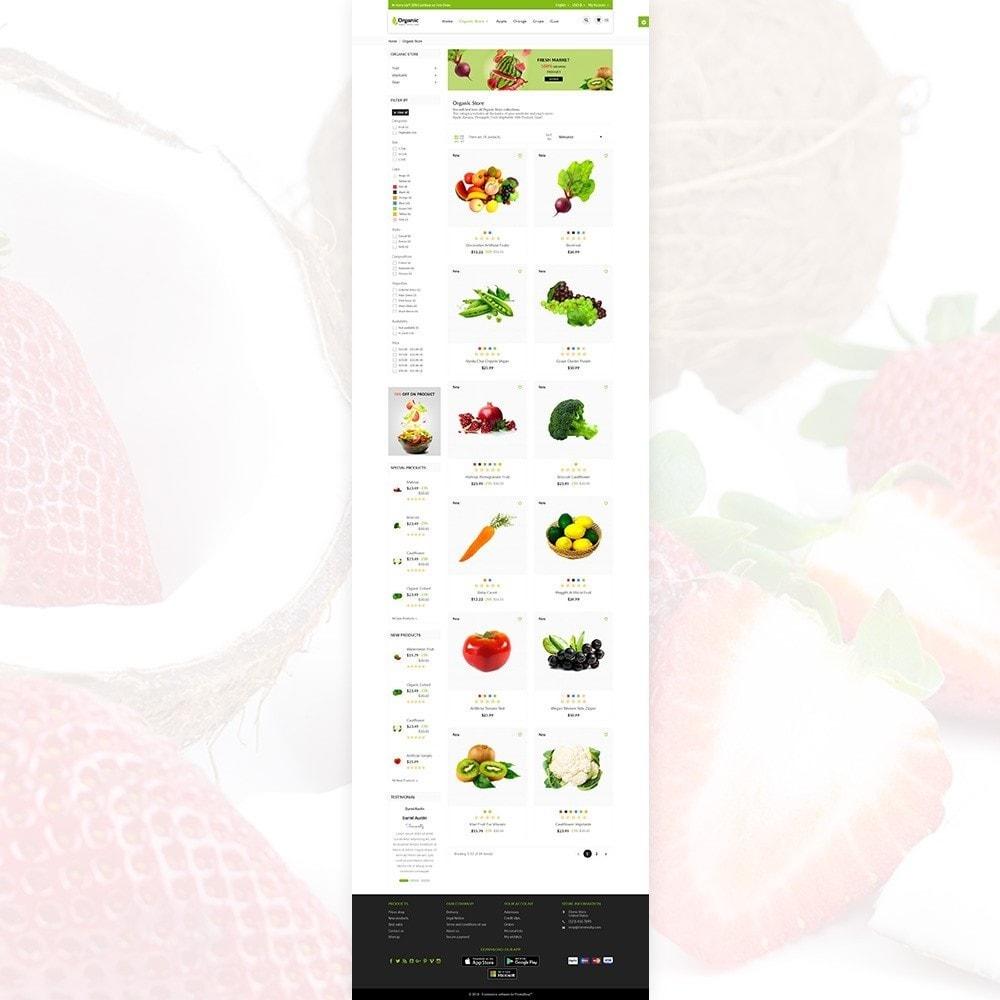 theme - Żywność & Restauracje - Organic Fresh–Food Grocery–Market Store - 4