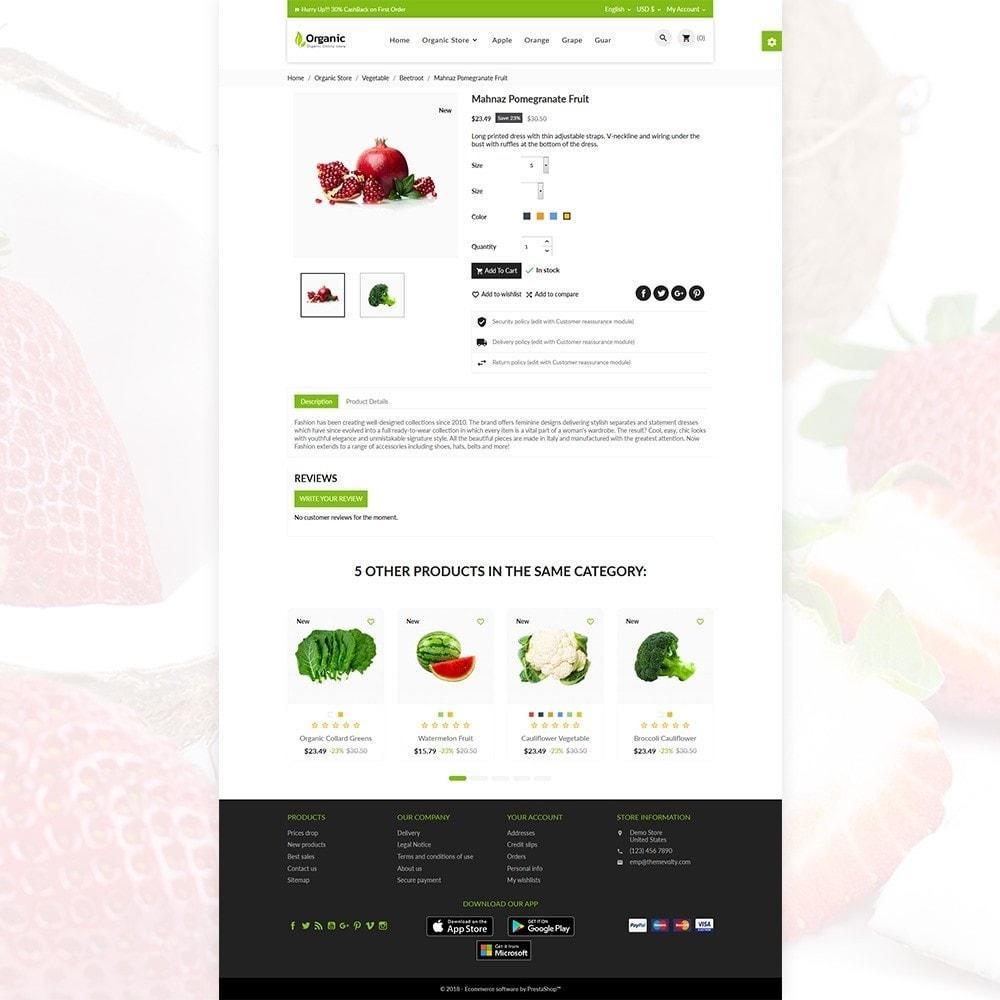 theme - Żywność & Restauracje - Organic Fresh–Food Grocery–Market Store - 5