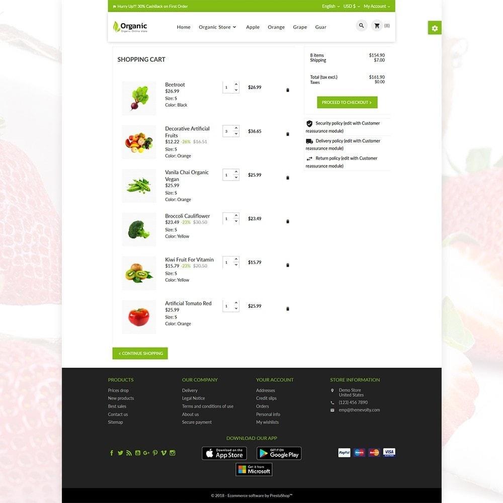 theme - Żywność & Restauracje - Organic Fresh–Food Grocery–Market Store - 6