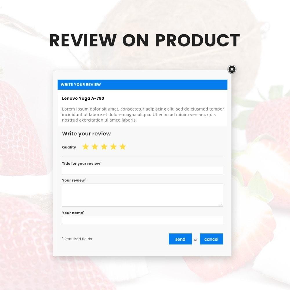 theme - Żywność & Restauracje - Organic Fresh–Food Grocery–Market Store - 9
