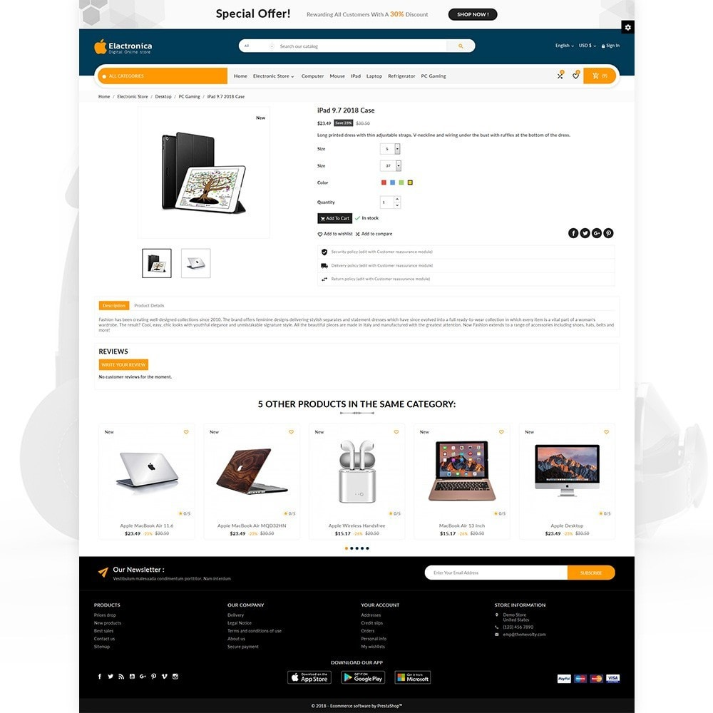 theme - Elektronik & High Tech - Electronica – Electronic Multipurpose Store - 4