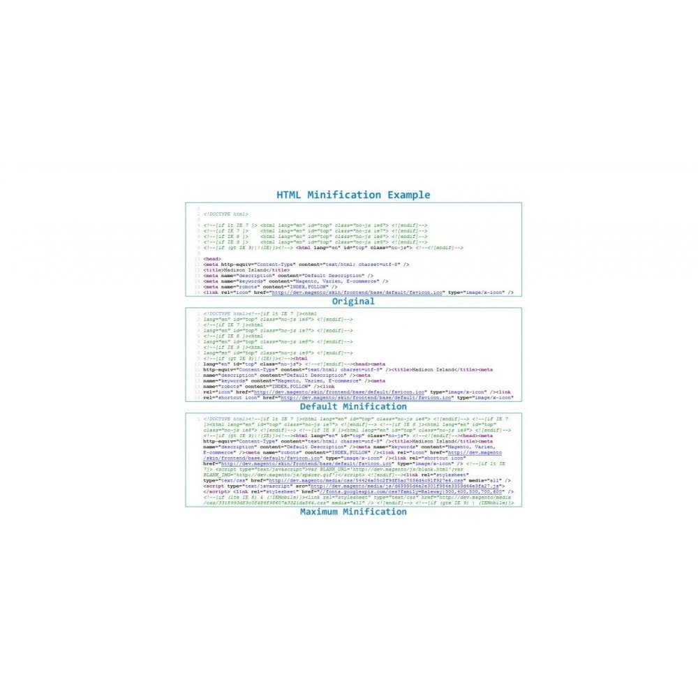 module - Segurança & Acesso - Minify HTML CSS JS - Incredibly speed optimization - 2